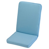 Glendale Low Back Chair Cushion Placid Blue (GL1282)