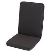 Glendale Low Back Chair Cushion Charcoal Grey (GL1285)