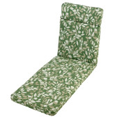 Glendale Sun Lounger Cushion Cotswold Leaf (GL0069)