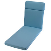 Glendale Sun Lounger Cushion Placid Blue (GL1294)