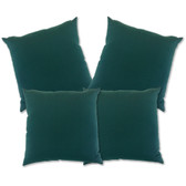 "Glendale Scatter Cushion 18""x18"" Green Set 4 (GL1353)"