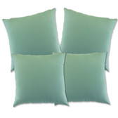 "Glendale Scatter Cushion 18"" x 18"" Misty Jade Set 4 (GL1237)"
