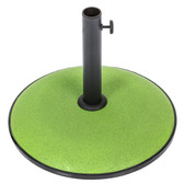 Concrete 15kg Parasol Base Lime (91367)