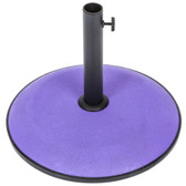 Concrete 15kg Parasol Base Purple (91368)