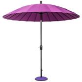 Geisha Parasol 2.7m Purple (84609)