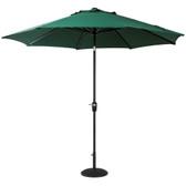 Elizabeth Aluminium Parasol 3m Green (83566)