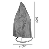 Aerocover for Garden Hanging Chair 100x200cm (18-C-7969)