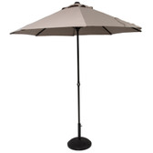 Easy Up Parasol 2.7M Taupe