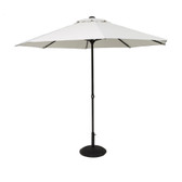 Easy Up Parasol 2.7M Mouse Grey