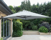 Wall Mounted Cantilever Parasol 2x2M Grey