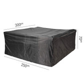 Aerocover for Rattan Garden Set 300 x 250 x 70cm