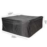 Aerocover for Rattan Garden Set 220x220x70cm (18-C-7995)