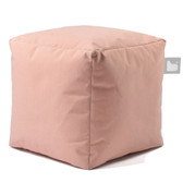 Mighty B-Box Outdoor Beanbag Stool Pastel Orange (EL0159)