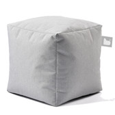 Mighty B-Box Outdoor Beanbag Stool Pastel Grey (EL0158)