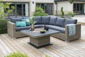 LIFE Aya Round Corner Sofa Set (142)