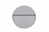 Pacific Lifestyle Grey Round Diffused Outdoor Wall Light (40-001)