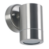 Brushed Steel Outdoor Fixed Spot Wall Light (40-020)