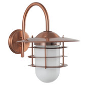 Copper Metal Outdoor Wall Light (40-037)