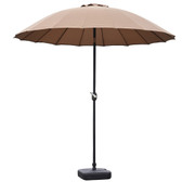 Blossom 2.5m Oriental Parasol Taupe (84632)