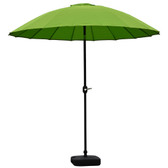 Blossom 2.5m Oriental Parasol Lime Green (84635)