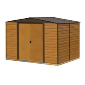 Woodvale Apex Metal Shed 10x8