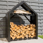 Rowlinson Black Apex Log Store (LOGBLK1)