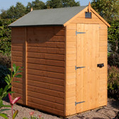 Rowlinson Security Timber Shed 6x4 (SECU6X4T)