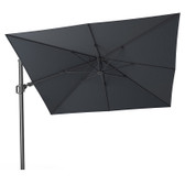 Challenger T2 Cantilever Parasol 3x3m Anthracite Grey