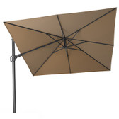 Challenger T2 Cantilever Parasol 3x3m Taupe