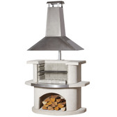 Buschbeck Venedig Stainless Steel Masonry Barbecue