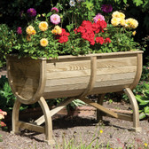 Marberry Barrel Garden Planter (PLBARR)