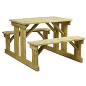 Newport 8 Seater Walk In Picnic Bench