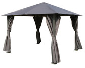 Glendale Highfield Metal Gazebo Grey 2.5x2.5M (GL1707)