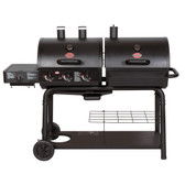 Char-Griller Duo 5050 Gas & Charcoal Grill