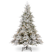 6FT Frosted Andorra Fir LED Artificial Tree 1.8M (PETGF2-307LB-60)