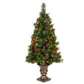 4FT Crestwood Spruce Artificial Entrance Tree 1.2M (CW7-397LB-40)