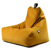 Mighty B Brushed Suede Beanbag Mustard