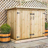 Deluxe Redwood Double Garden Store