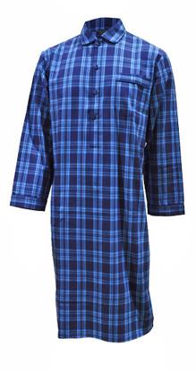 Turquoise Check Nightshirt