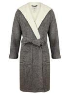 Grey Marl John Christian Dressing Gown