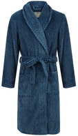 Blue Herringbone Robe