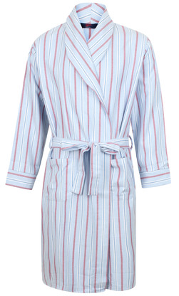 Somax striped dressing gown