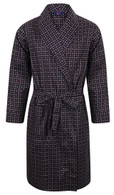 Navy Diamond Somax Dressing Gown