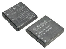 Li-ion replacement battery for Casio NP-40 and NP-40DBA - 3.7v 1230mAh.