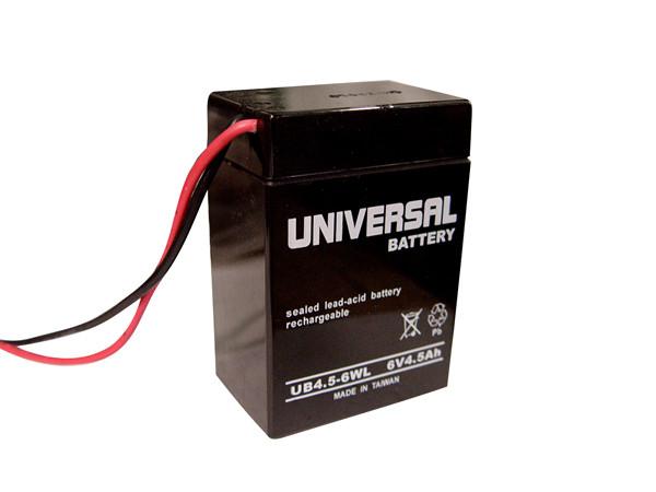 Lead Acid Battery >> Sealed Lead Acid Battery Ub645wl 4 5ah 6v