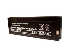 Sealed Lead Acid Battery - UB1223A - 2.3Ah 12v