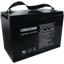 Sealed Lead Acid Battery - UB62000 (Grp 27 Case) - 6v 200Ah
