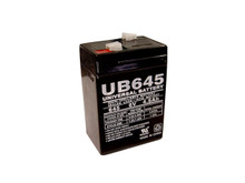 Sealed Lead Acid Battery - UB645 - 4.5Ah 6v