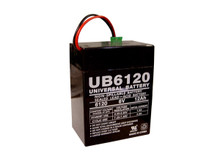 Sealed Lead Acid Battery - UB6120 TOY - 6v 12Ah P2