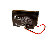 Sealed Lead Acid Battery - UB1208 - 12v 0.8Ah